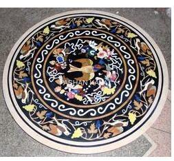 Marble Inlay Table Stone Tops
