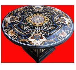 Italian Inlay Marble Table Tops