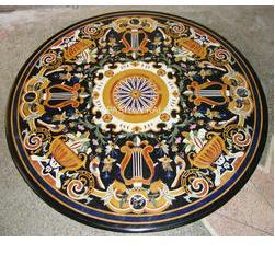 Round Marble Dining Table Tops