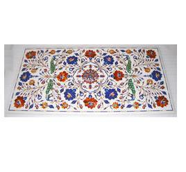 Pietra Dura Marble Inlay Table Tops
