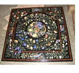 Decorative Marble Inlay Pietra Dura Table Tops