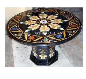 Stone Inlay Table Tops