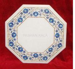 Marble Flower Inlay Table Tops