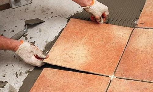 Floor Tiles Fitting Service