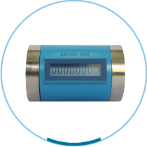 Battery Operated Ultrasonic Water Meter : ASIONIC - 400W