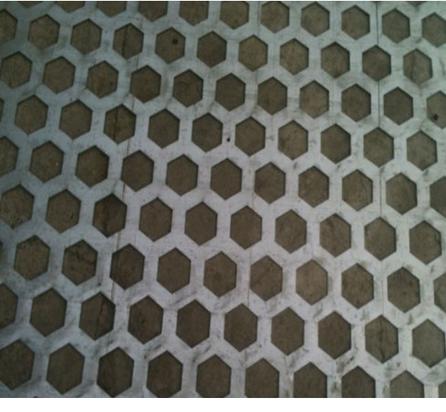 Hexagonal Hole Perforated Circles