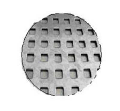 Rectangular Hole Perforated Circles