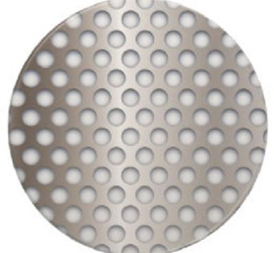 Dimpled Hole Perforated Circles