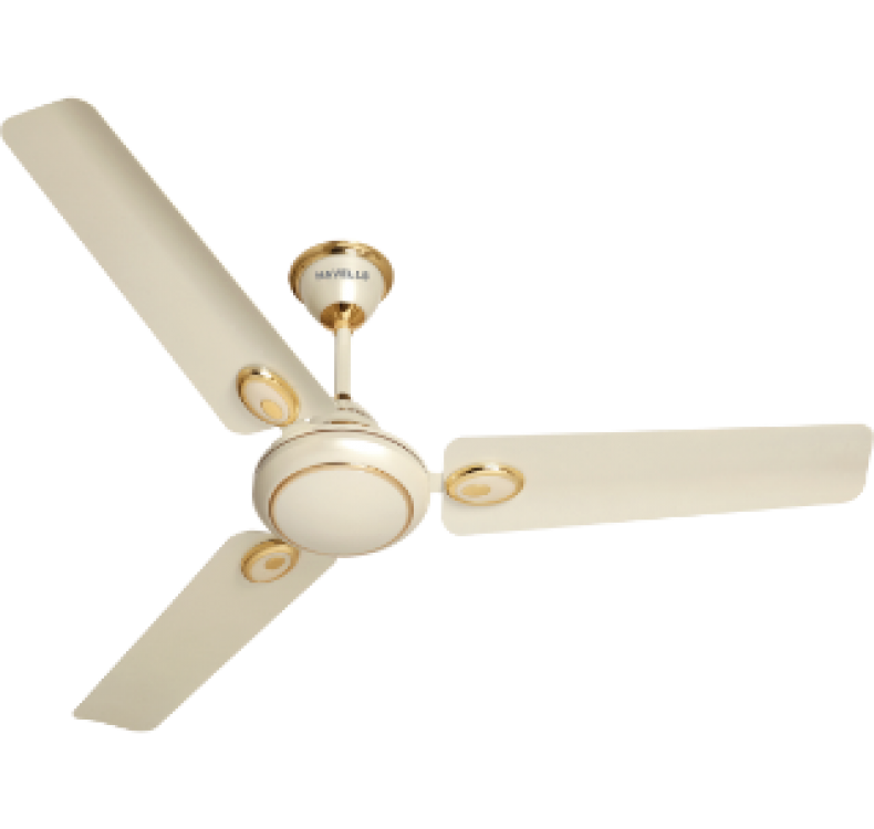 Energy Saving  Pearl Ivory Gold Fan