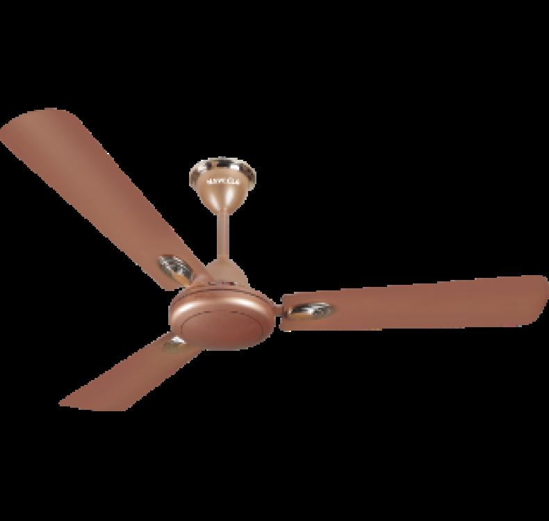 Decorative Sparkle Brown  Fan