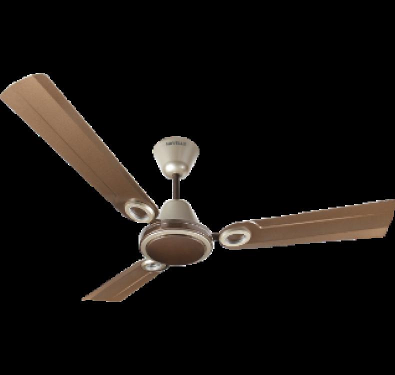 Decorative Pearl Brown Gold  Fan