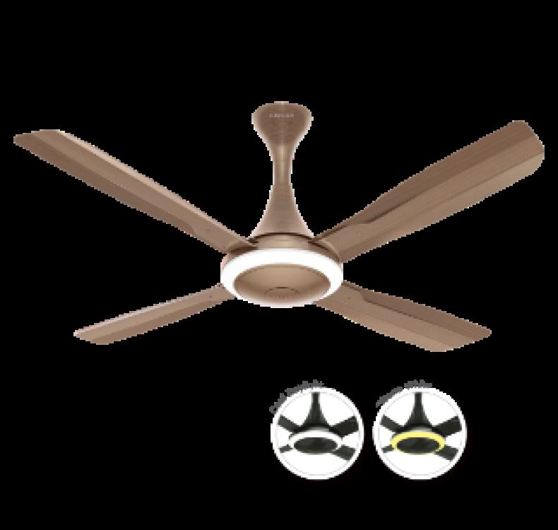Underlight  Antique Copper  Fan