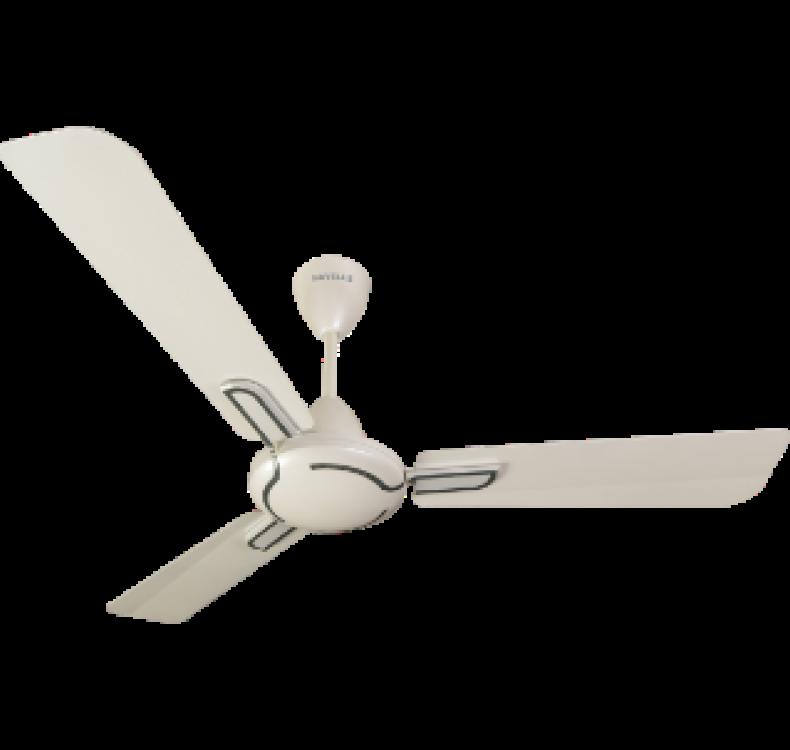 Decorative PEARL WHITE WOOD  Fan
