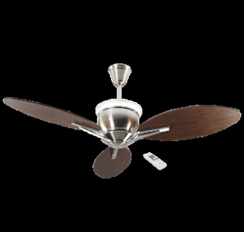 Underlight  Brushed Nickel  Fan