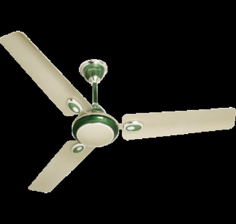 Decorative Oasis Green  Fan