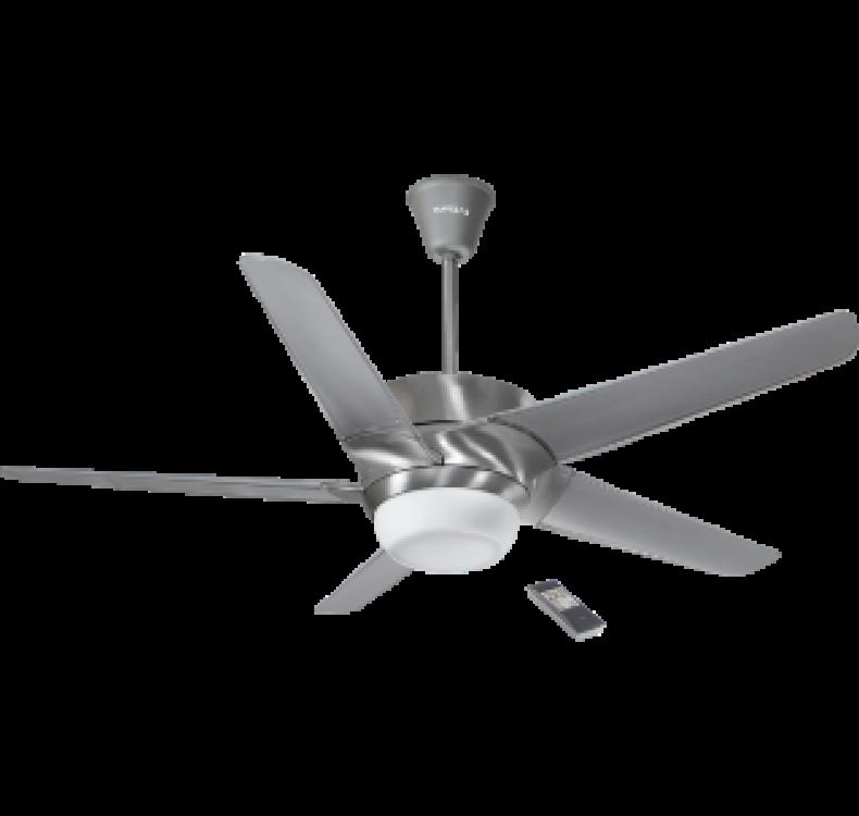 Underlight Brushed Aluminium Fan