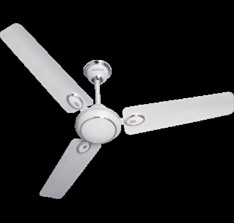 Decorative  White Silver Fan