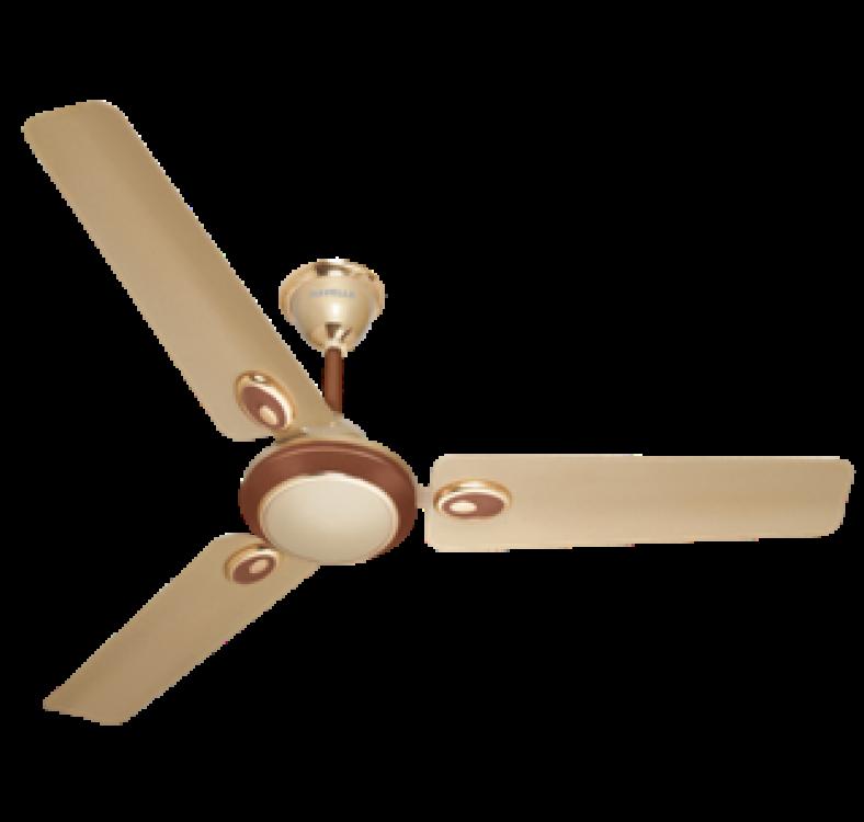 Energy Saving  Beige Brown Fan