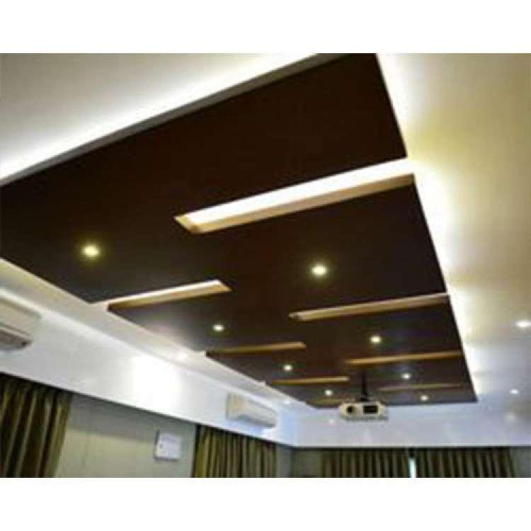 Laminated Wooden False Ceiling