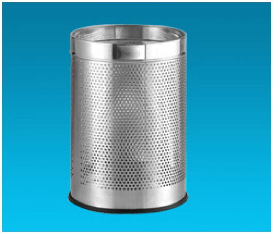 Stainless Steel Plain Pedal Bins
