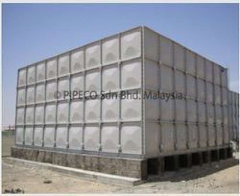 GRP SMC Panel Type Tanks