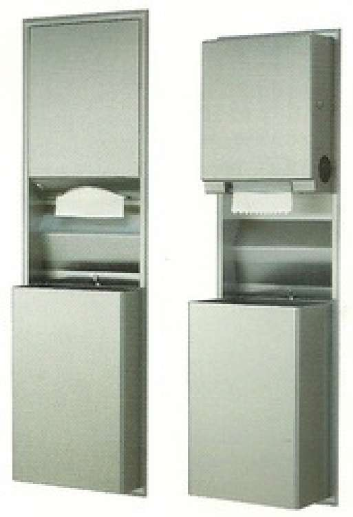 Recessed Convertible Paper Towel Dispenser