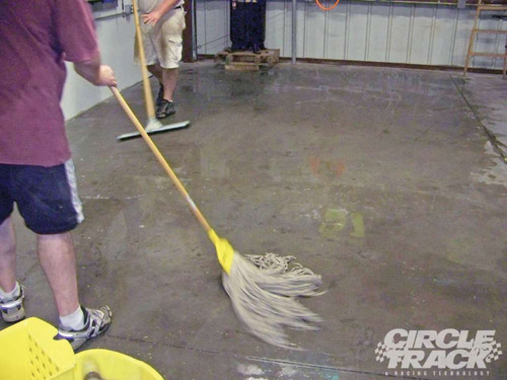 Floor Mopping Services