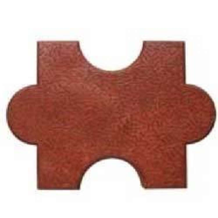 Glossy Interlocking Paver Block