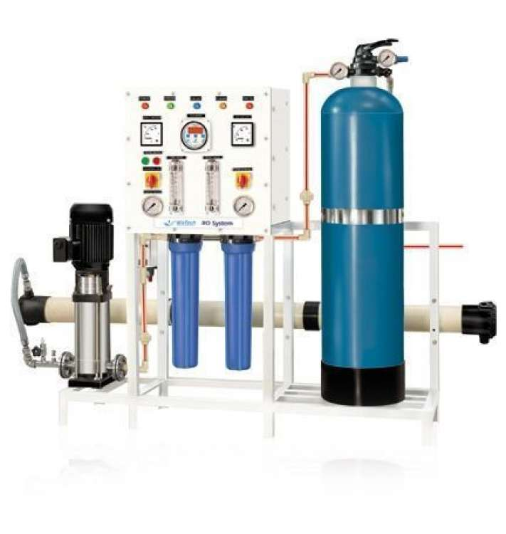 500 LPH Revesre Osmosis Mineral Water Treatment Plant