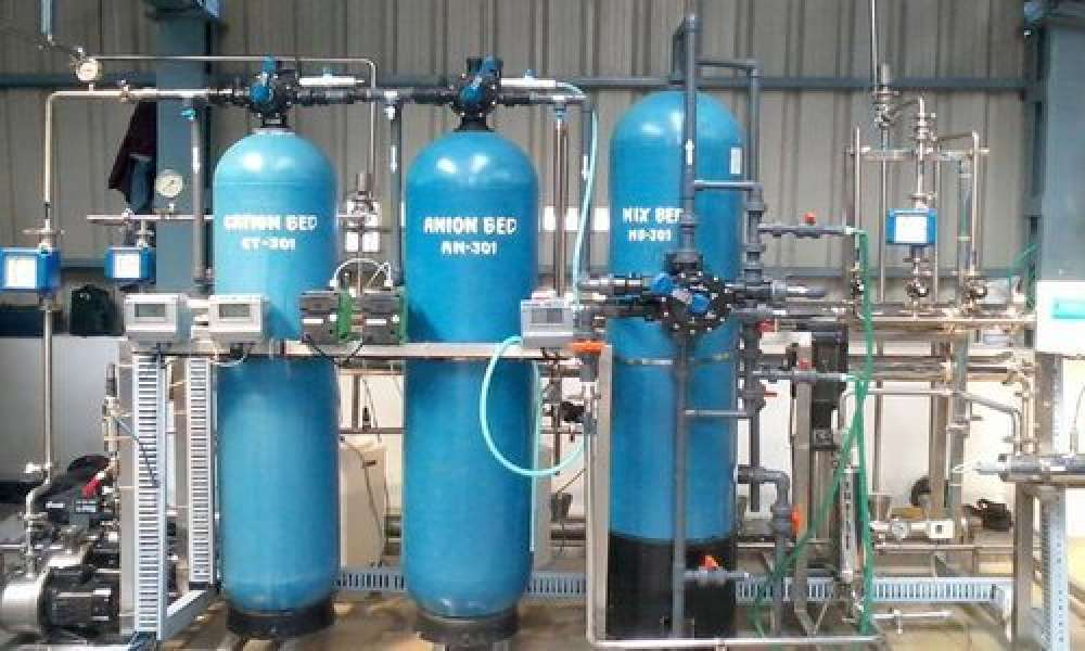 Battery Water Plant ( Deionisation Plant)