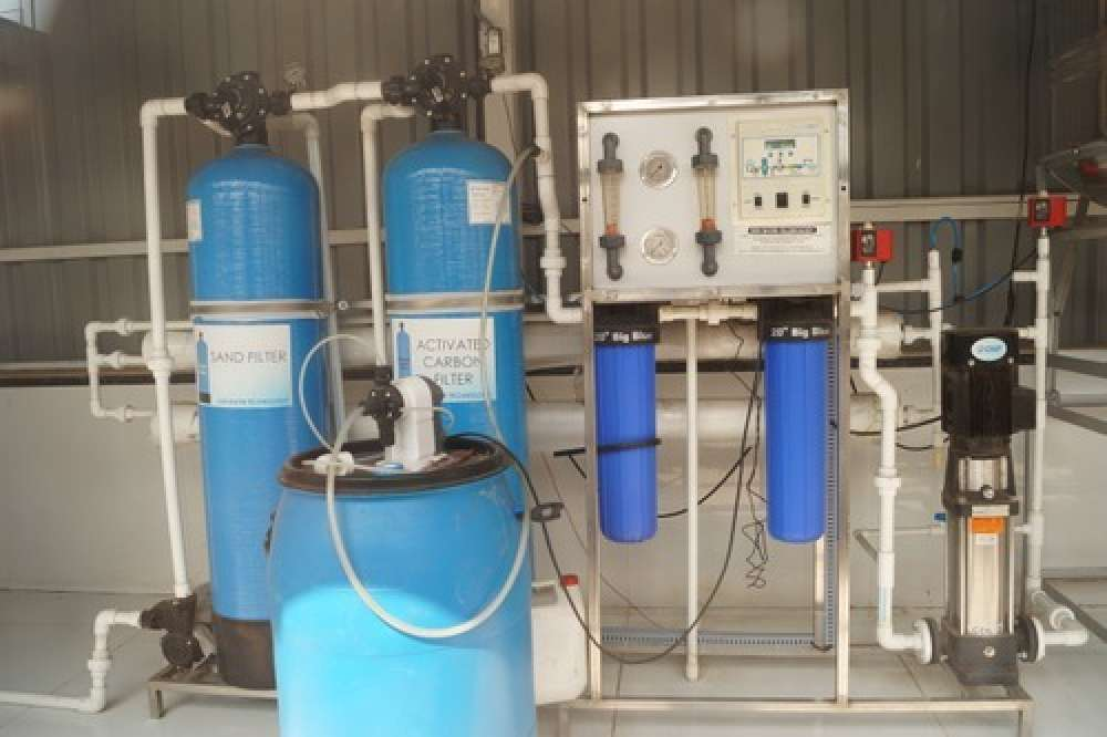 1000 LPH Mineral Water Treatment Plant