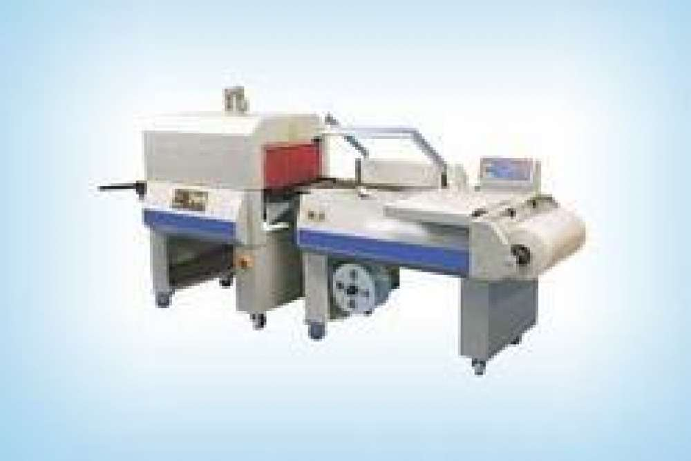Semi Automatic Seal Cut And Shrink Machine