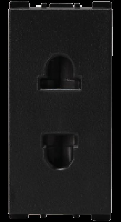 2 Pin, 1 Module F/R Socket