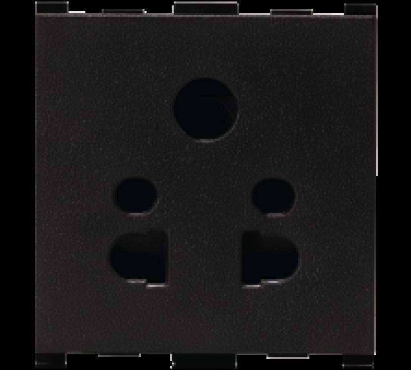 2 Module,2/3 Pin Multi Socket