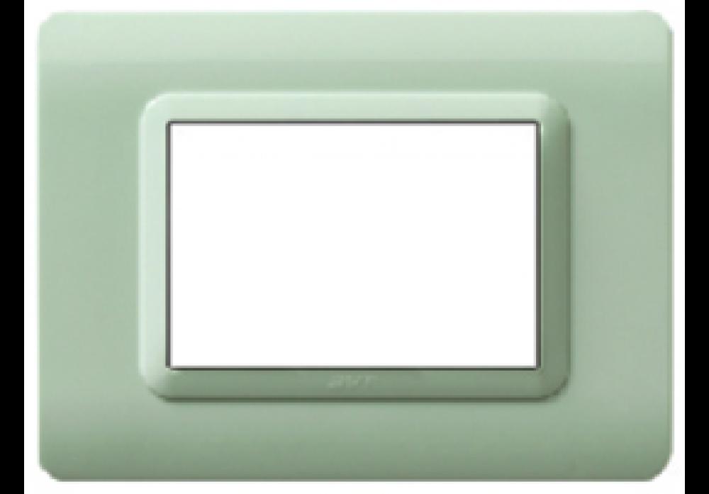 3Module Opaline Jade Plate