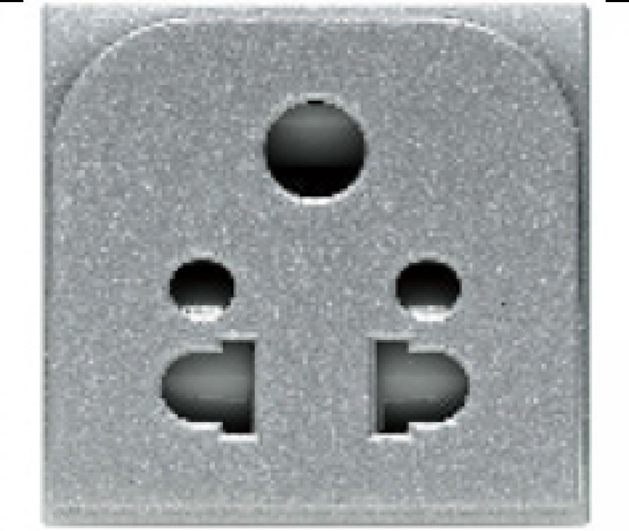 2 Pin Euroamerican Socket
