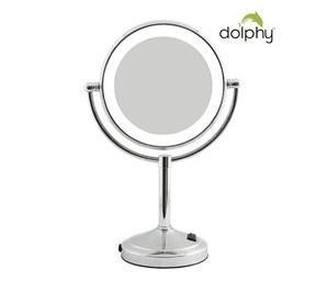 Magnifying LED Tabletop Shaving Mirror