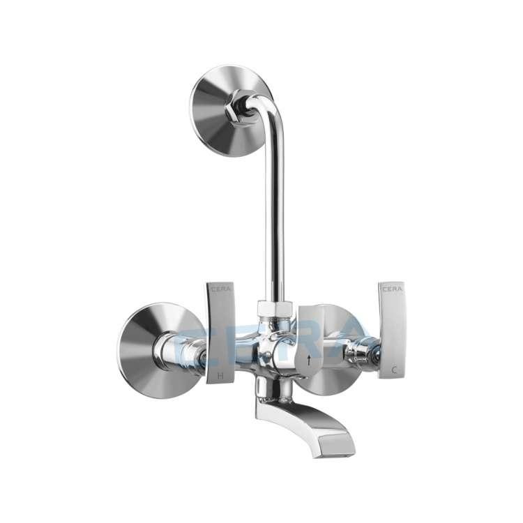 Wall mixer with non return valve