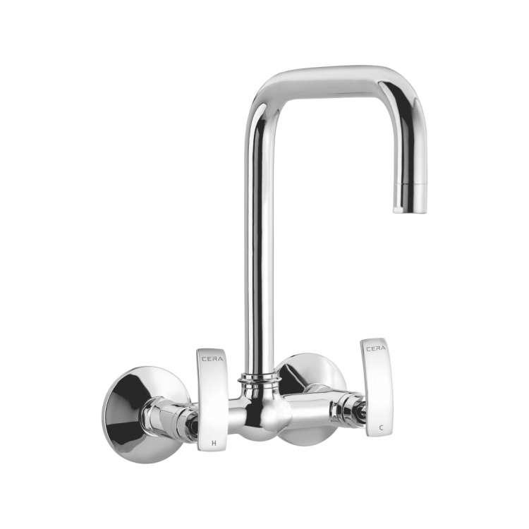 Sink mixer wall mounted