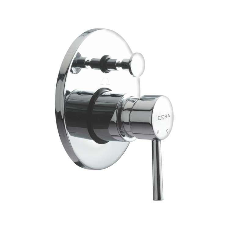 5-way single lever concealed diverter
