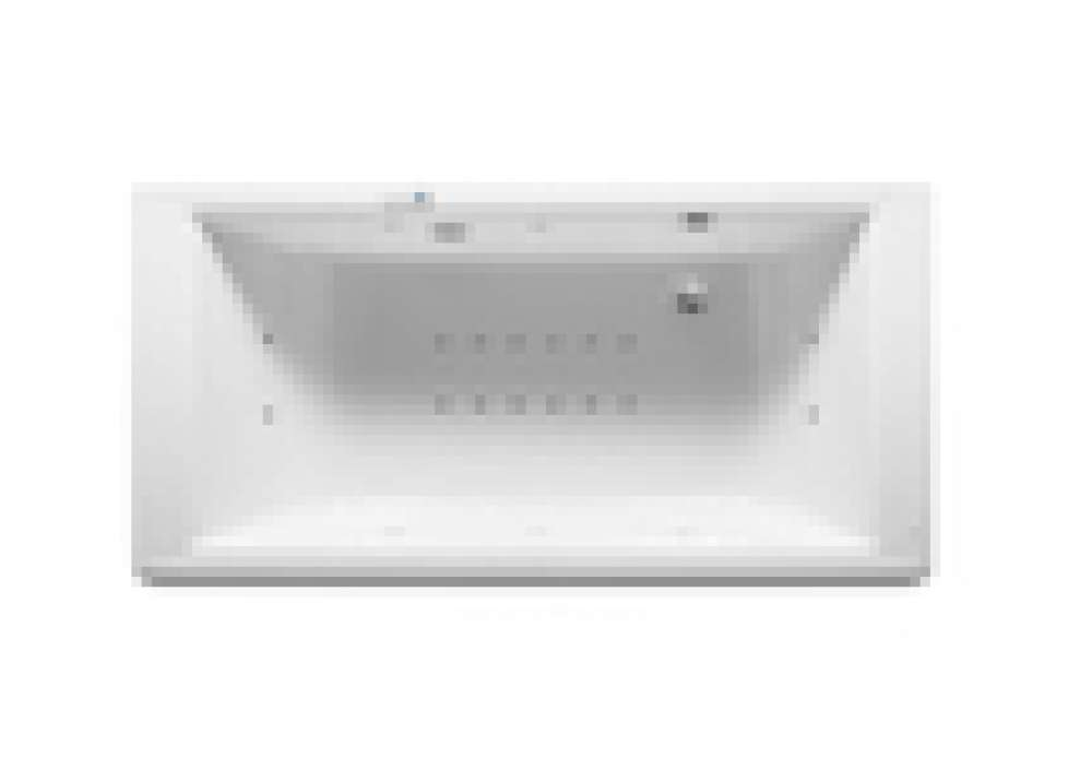 Rectangular Acrylic Bathtub
