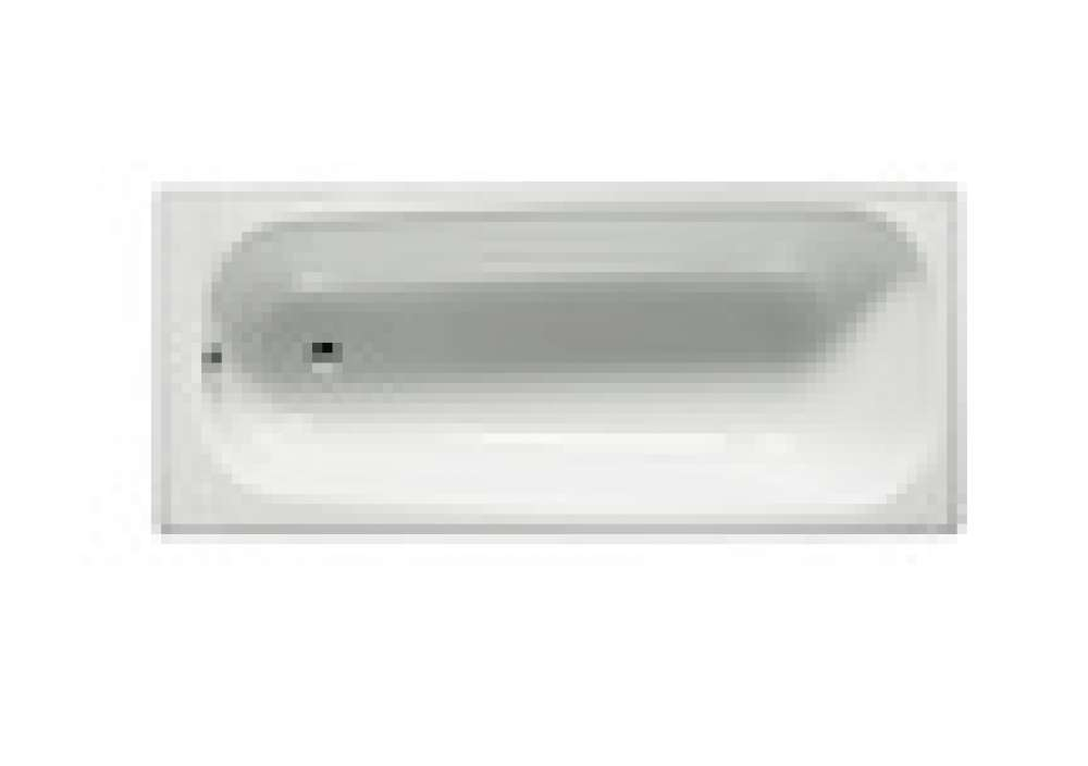 Rectangular Steel Bathtub