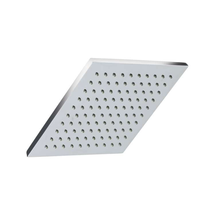 Overhead rain shower square