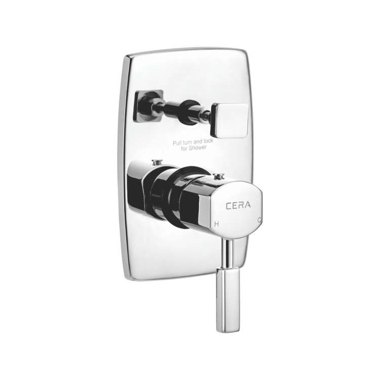 5-way single lever concealed diverter