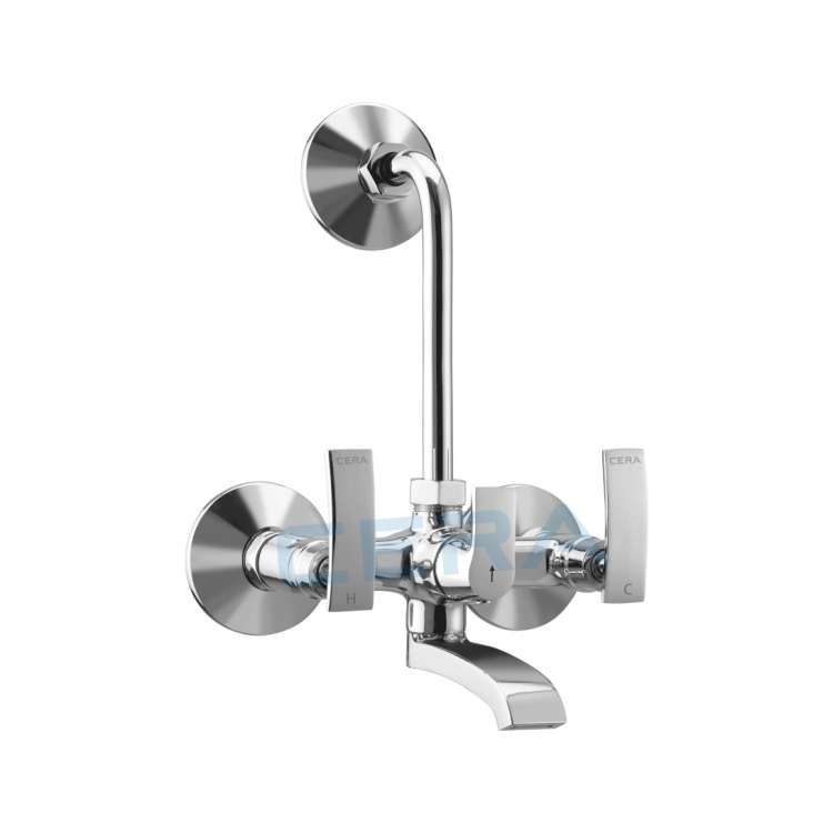 Wall mixer with non return valve