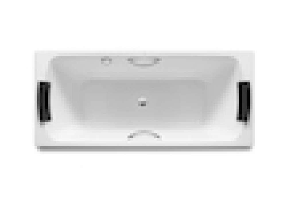 Rectangular Steel Bathtub