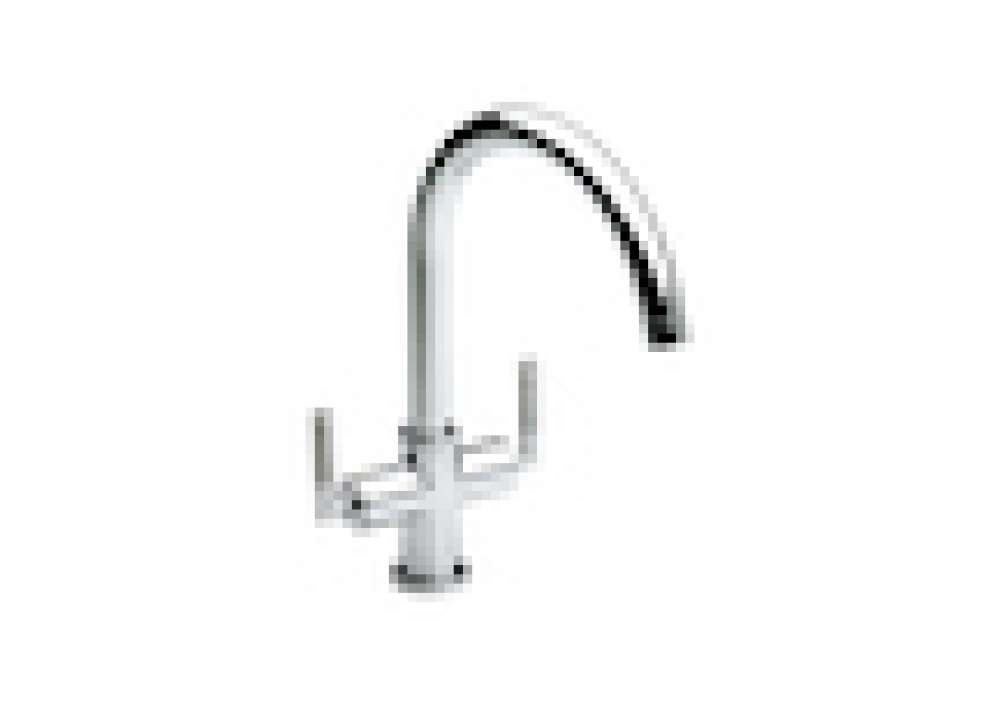 Double Lever Kitchen Sink Mixer