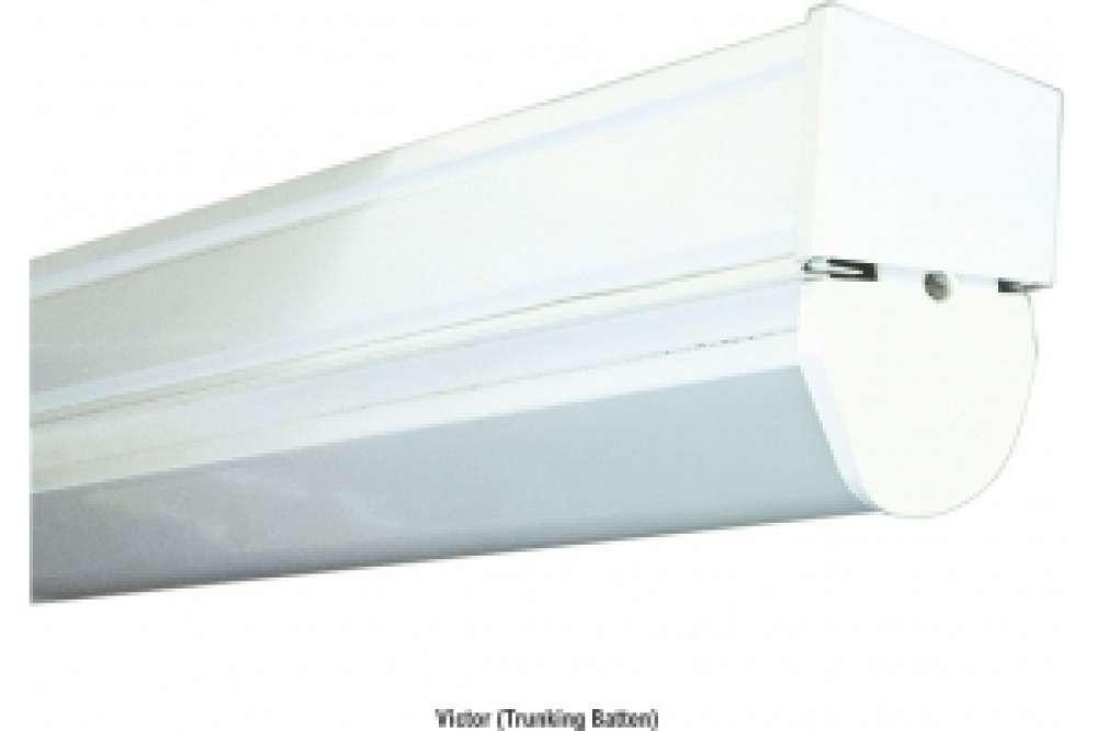 40W LED trunking mounted luminaire