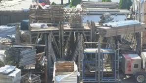 Reuse Scaffolding material