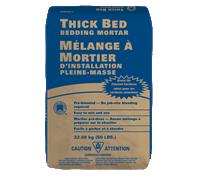 waterproof bedding mortar